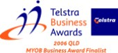 Mortgage Now Telstra small business award finalist 2006