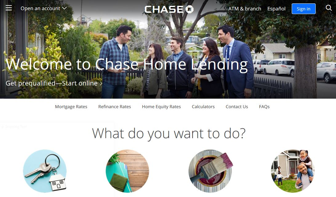 JPMorgan Chase Bank Mortgage Online Payment