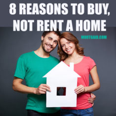 why buy and not rent a home