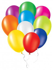 Helium for Party Balloons