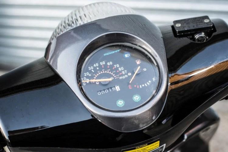 Motorini WP 125 clocks