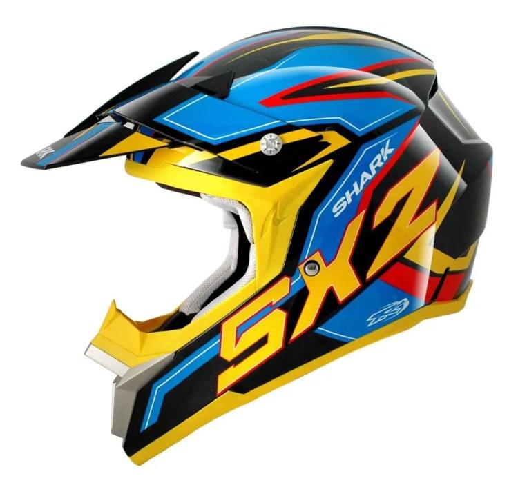 Motocross-helmet