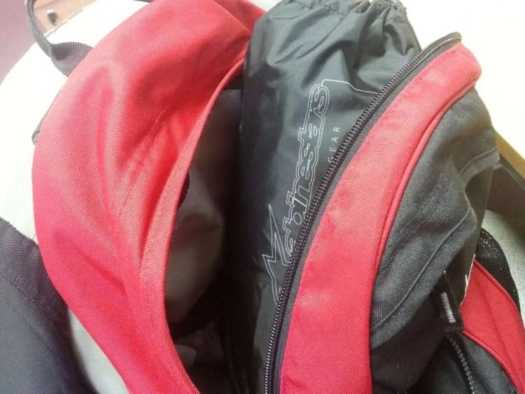 Waterproof-in-rucksack