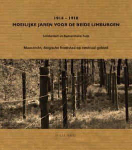 Omslag 1914-1918 Moeilijke jaren voor beide Limburgen