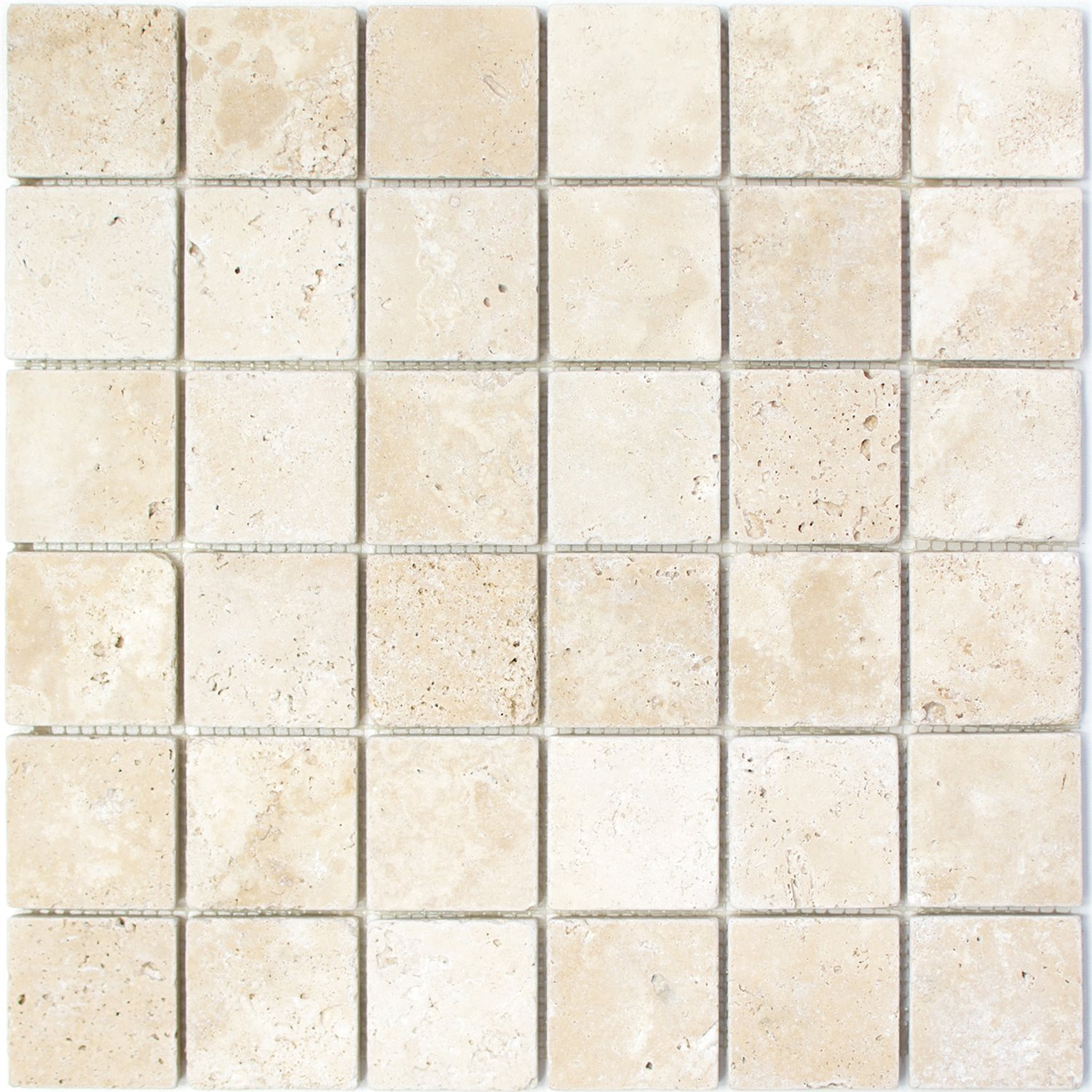 mosaique carrelage travertin barga beige 48