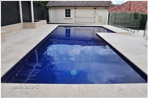 dark coloured swimming pools with tiles
