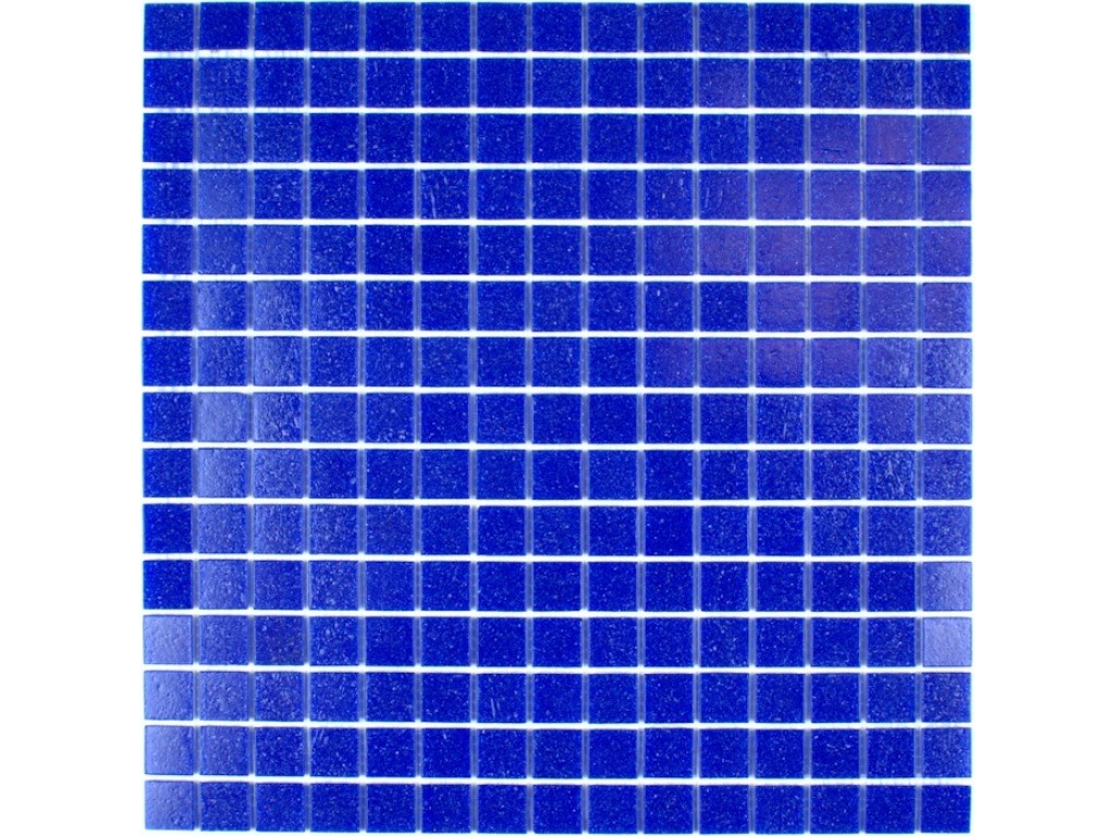 classic glass mosaic dark blue