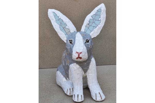 Rabbit, 52cm x 18cm, 10kg.