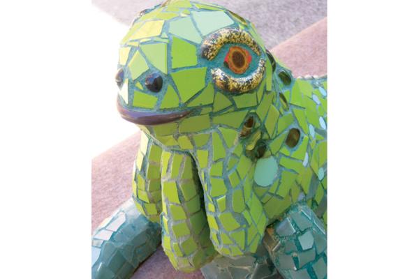 Iguana, 75cm x 40cm x 25cm, 20kg.