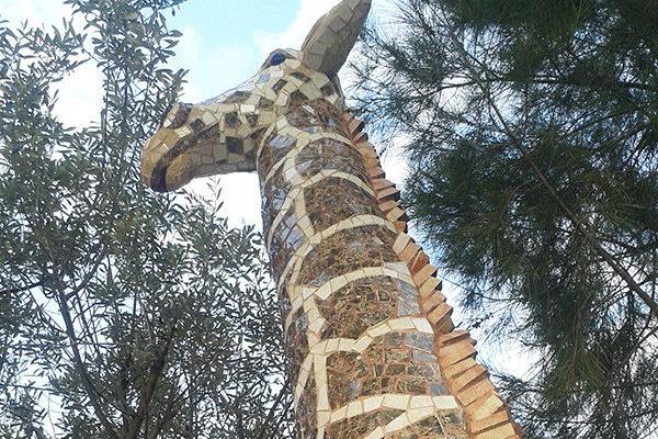 Giraffe Gina, La Miranda School, Barcelona.