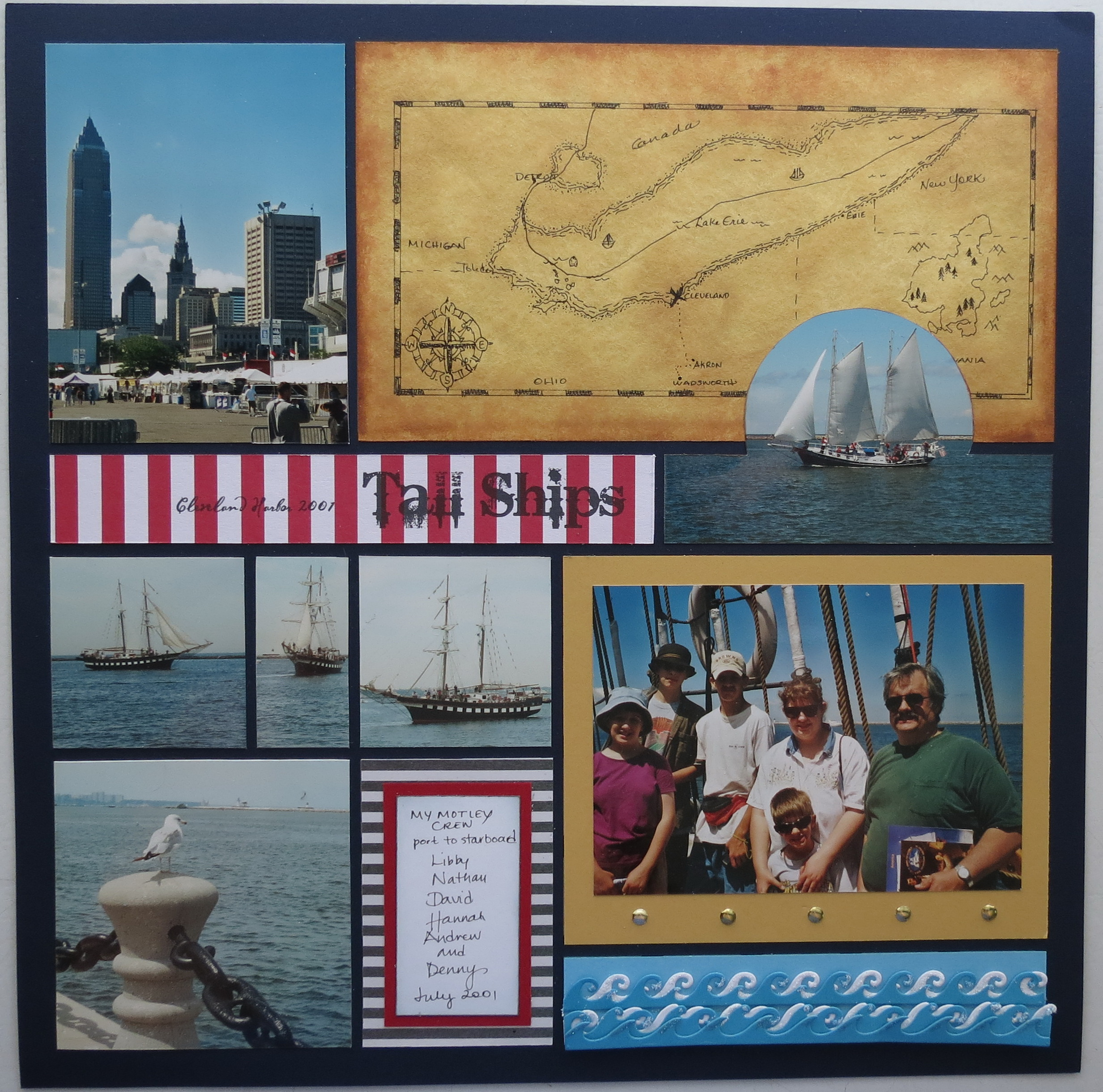 Scrapbook Pages Inspired By Treasure Island