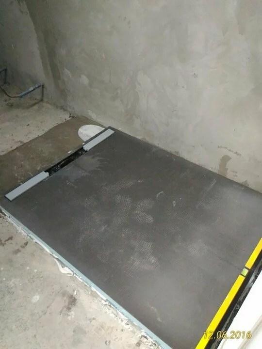 Piatto doccia Wedi FUNDO RIOLITO NEO 120 CM X 90 CM