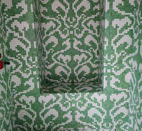Damasco bianco mosaico Bisazza