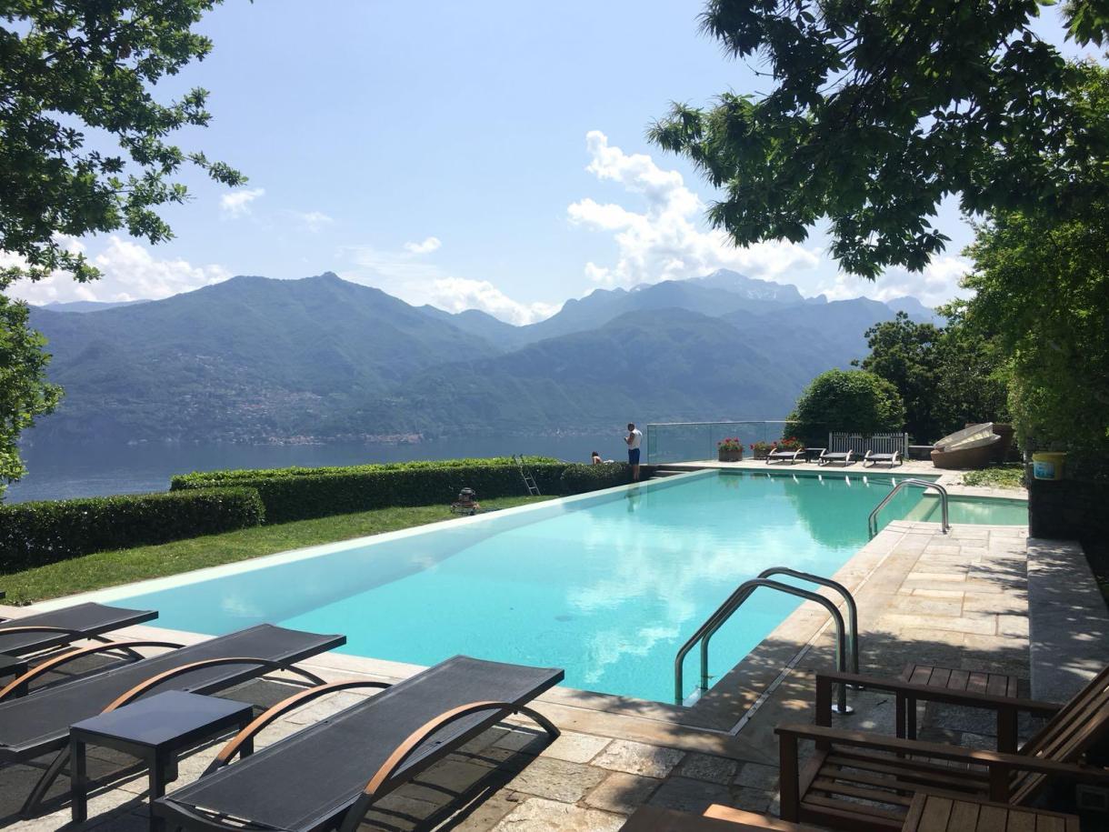 Il rivestimento Bisazza lago di Como