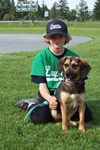 Jasper at ball field