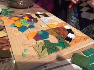 workshop mozaiek tableau
