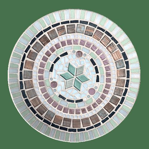 mozaïekpakket schaal stella Maris, mosaickit dish