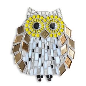 mozaïekpakket veld, mosaickit owl