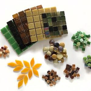 Earth-kleurpakket mozaïek