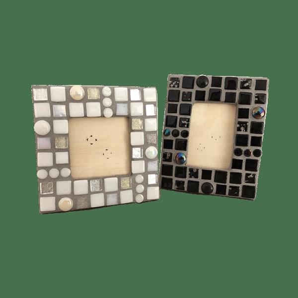 mozaïekpakket fotolijstjes, mosaickit photoframe