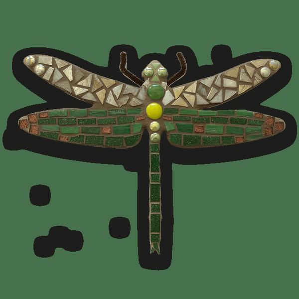 Mozaiekpakket Dragonfly-green