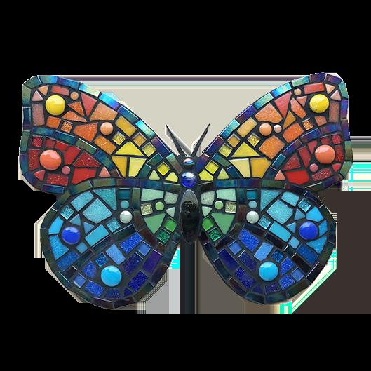 Mozaiekpakket Regenboogvlinder