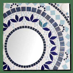 Mozaiekpakket Spiegel Blue Reflections