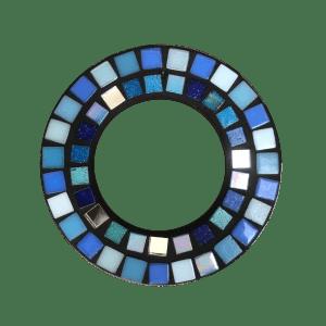 Ring 13cm blauw suncatcher