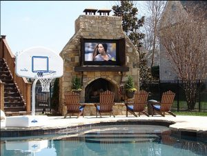 where to mount an outdoor tv moseley