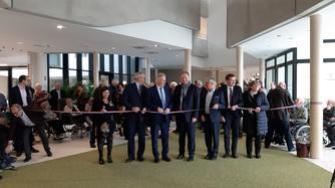 Inauguration de l'EPHAD du Bois des Oiseleurs à Freyming-Merlebach