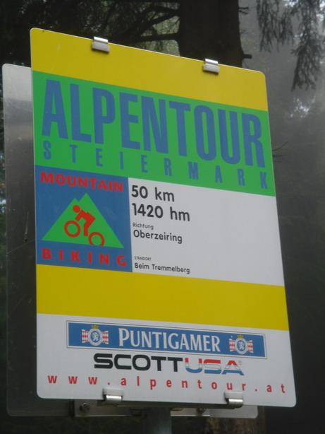 Alpentour Sign