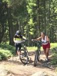 Bike pushing