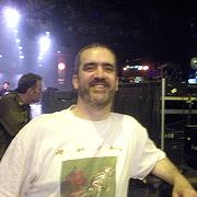 David at a Rush gig