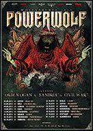 powerwolf tour 2015