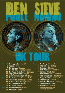 Ben Poole and Stevie Nimmo UK Tour 2016