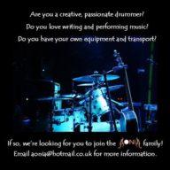 Aonia seek drummer
