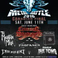 Wacken Canada Metal Battle Final 2016