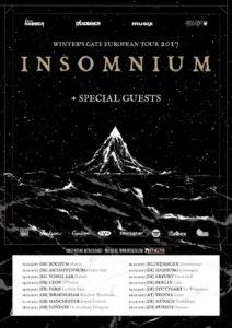 Insomnium 2017 Tour