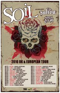 SOiL 2016 UK Tour