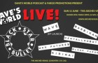 Dave's World Live! Featuring: Black Star Bullet / WAVE / deny all ROBOTS / Barbikan / Kirikai / Wax Futures / Blank Parody (11 June 2017)