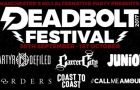 Deadbolt announce 20 more bands for Manchester festival
