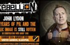 Rebellion Festival confirms live Q&A with John Lydon