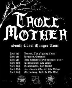 Troll Mother announce South Coast Hunger Tour