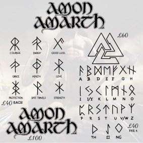 Amon Amarth tattoos 5