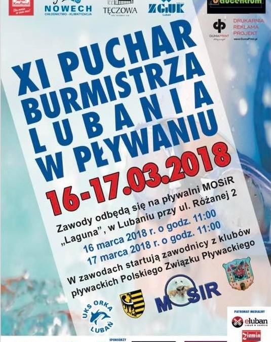 XI PUCHAR BURMISTRZA W LUBANIU