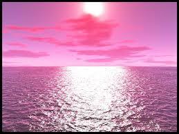 قمر وردي في ابريل