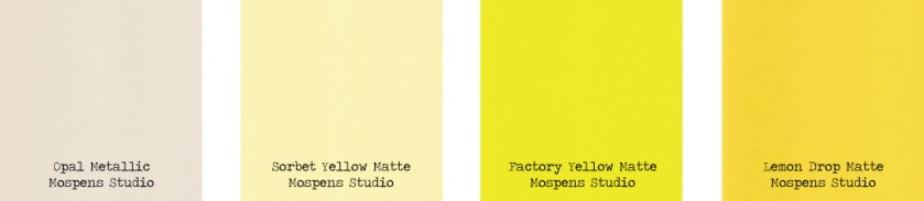 1 Yellow Color Cardstock Invitation Envelopes