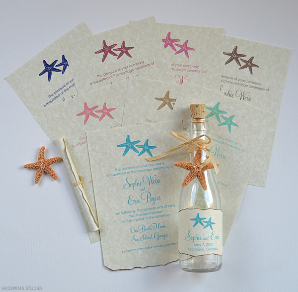 Sky Full Of Stars Wedding Invitation Iwi089
