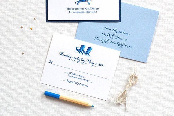Blue Crab Wedding Ideas Archives Custom