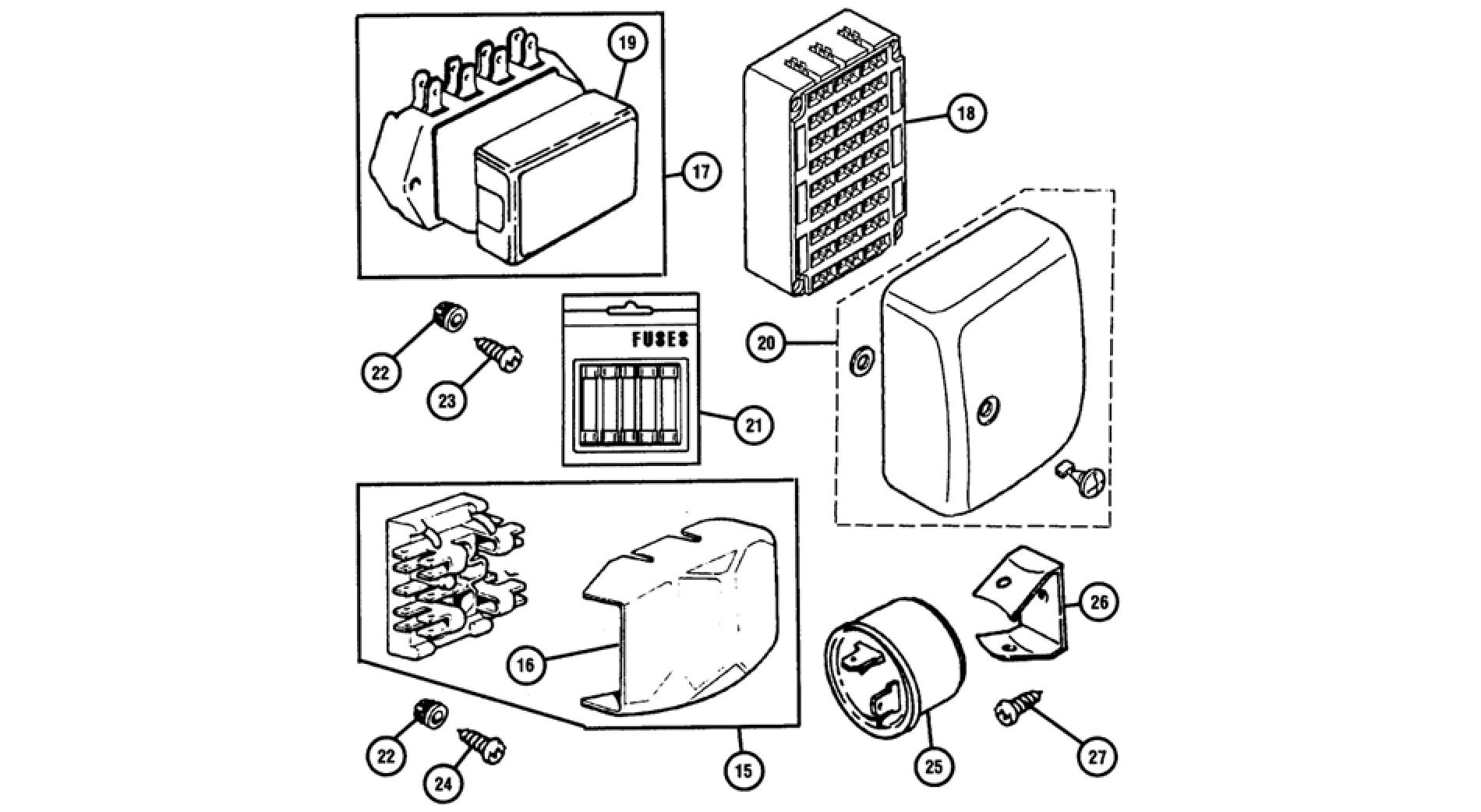Fuse Box Fuses Amp Flasher Units